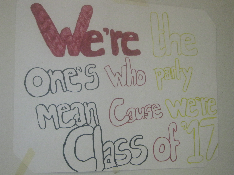 2016 graduation slogans | just b.CAUSE