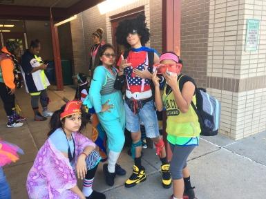 Crystal, Kat, Jeff, Laura